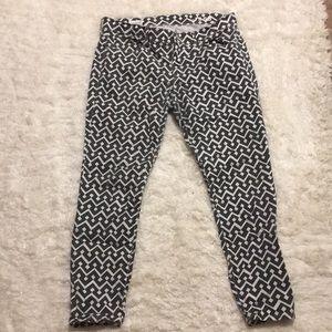 Gap Print Legging/Jean